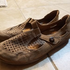 Earth Origins leather shoes sz 9 EUC